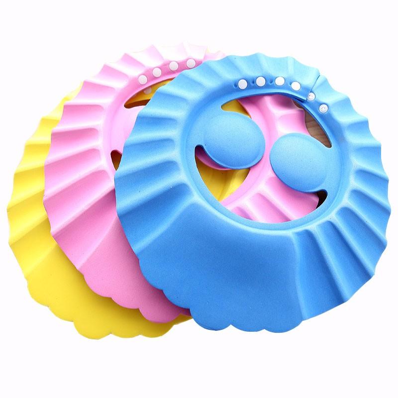 כובע מקלחת עם מגן אוזניים