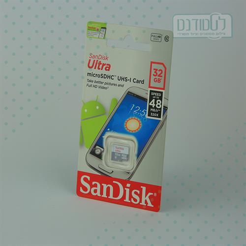 כרטיס זכרון מיקרו 32GB