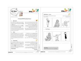 חוברות עבודה לספרונים באנגלית | Level 2-4