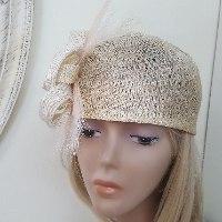 כובע מעוצב לנשים / דגם - צ'רלסטון