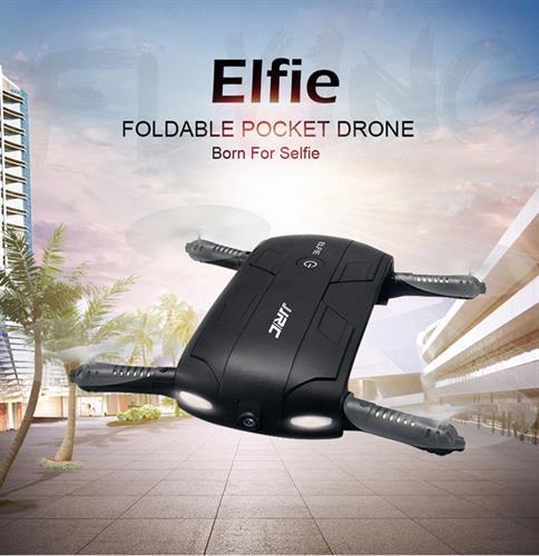 מיני רחפן סלפי מתקפל עם מצלמת WIFI FPV מובנית נשלט על ידי הסמארטפון