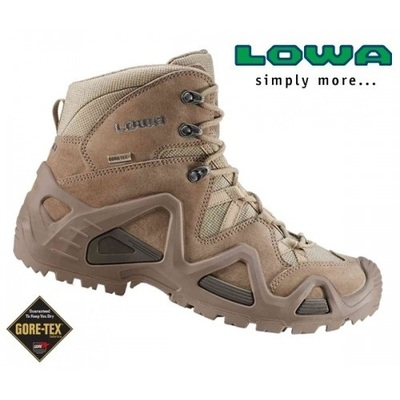 נעליים טקטיות  הרים לואה  חום כהה  LOWA Zephyr GTX Mid Coyote