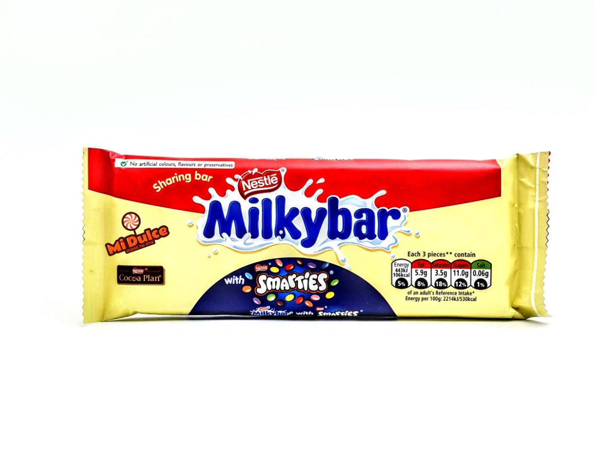 Milkybar With Smarties