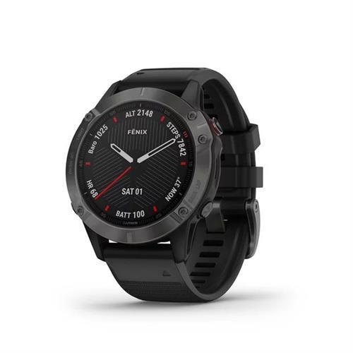 שעון דופק גרמין Garmin Fenix 6 Sapphire