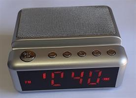 שעון מעורר דיגיטלי HDY-G24  אפור/כסף