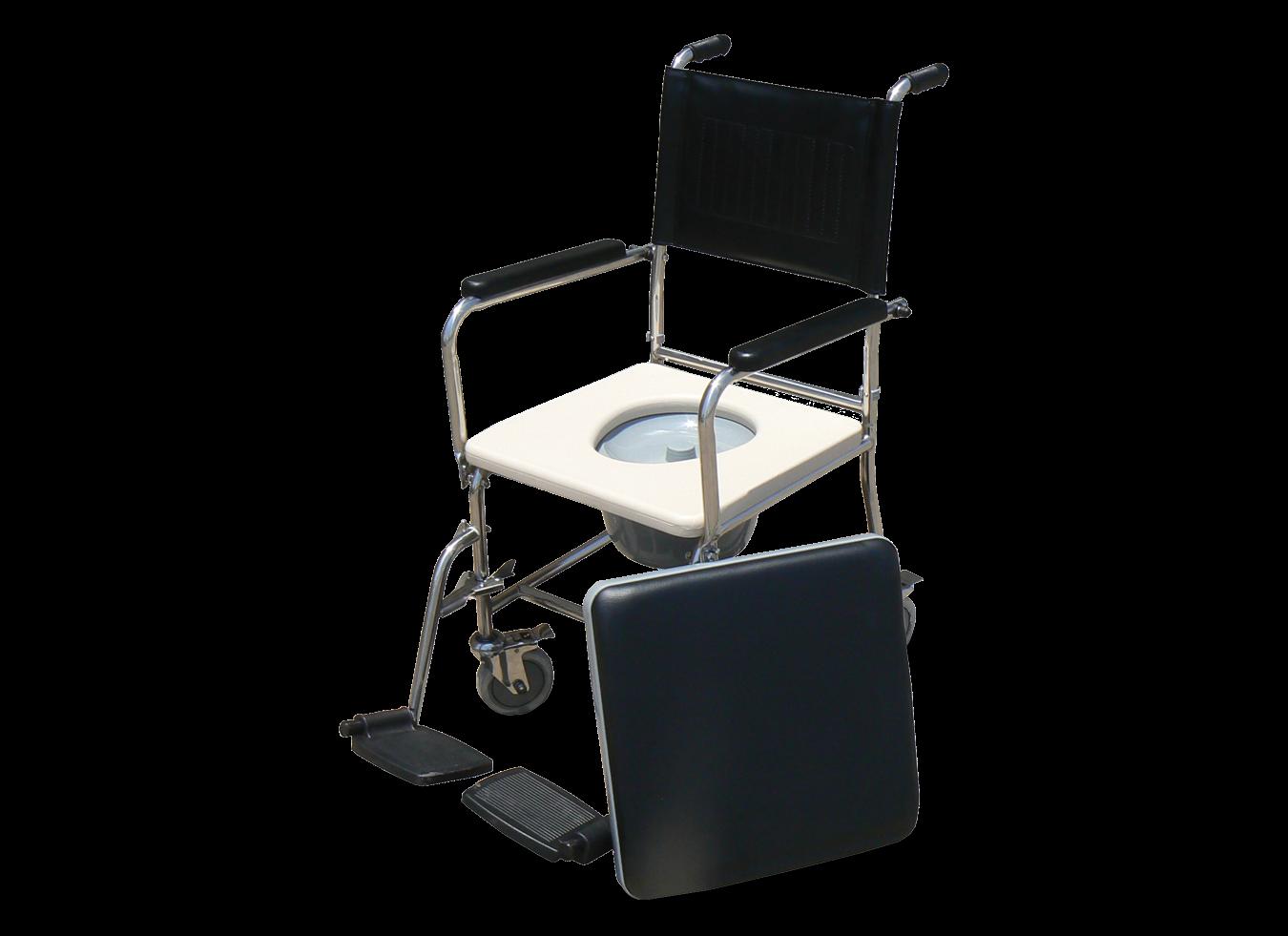 כסא שירותים פלדה כרום מושב קשיח
