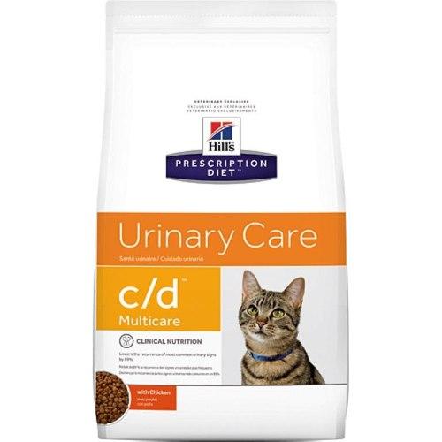 מזון רפואי לחתולים הילס C/D Hill's Prescription Diet C/D 5KG