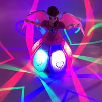בובת פייה רוקדת עם שרביט קסמים - DancingFairy
