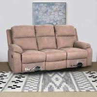ספה 3 מושבים סיאסטה בד חום OUTLET