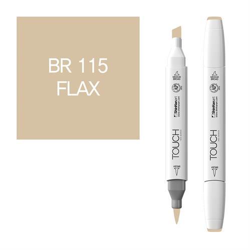 """טאץ דו""""צ מכחול FLAX BR115"""