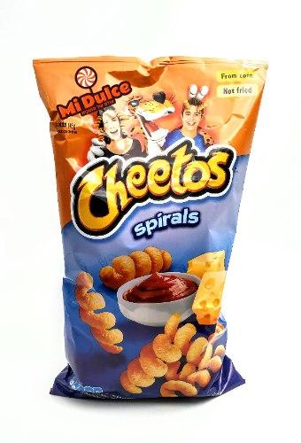 cheetos Spirals,מארז ענק !!