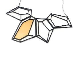שרשרת גדולה תלת מימד גאומטרית
