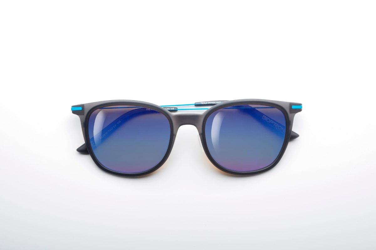 משקפי היפרלייט (נגד קרינה) עם אפקט מראה דגם THE-0102BU, MRBU צבע כחול