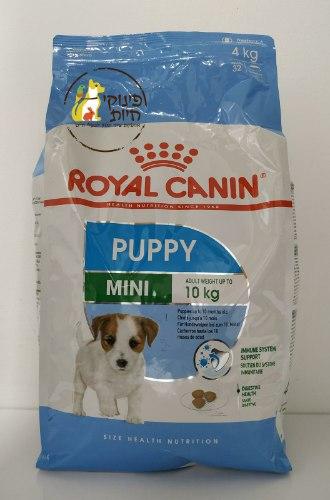 """מזון לגורי כלבים קטנים מארז 4 ק""""ג ROYAL CANIN"""