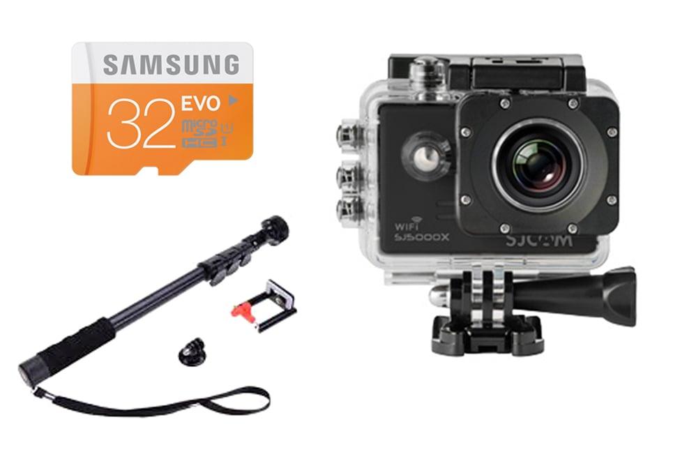 מצלמת אקסטרים SJCAM SJ5000X ELITE חבילה ELITE