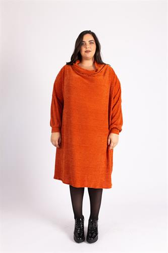 שמלת גלרי כתומה