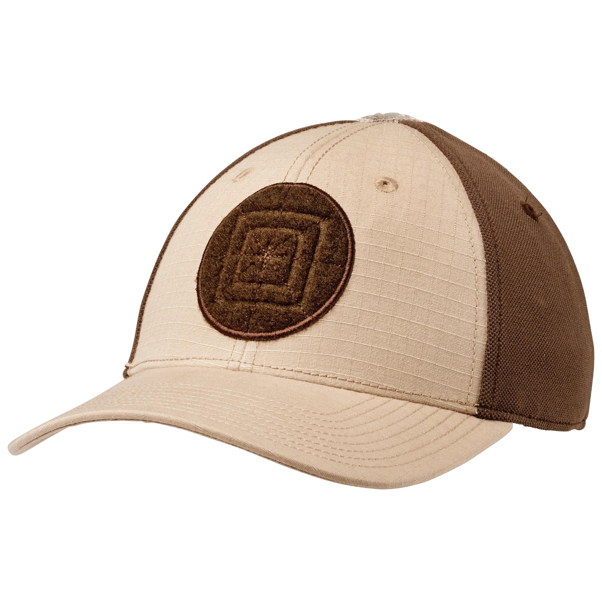 כובע טקטי חאקי 5.11 DOWNRANGE CAP TDU Khaki