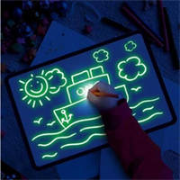 לוח זוהר בחושך לילדים