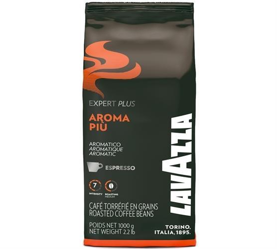 1 קג פולי קפה לוואצה ארומה פיו Lavazza Aroma piu Beans