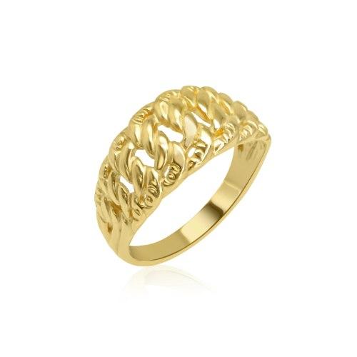 טבעת זהב דגם חוליות|טבעת מיוחדת