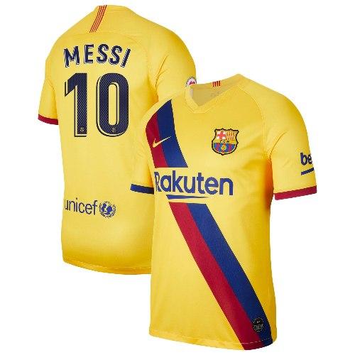חולצת משחק ברצלונה שלישית 19/20 - MESSI 10 גרסת שחקן