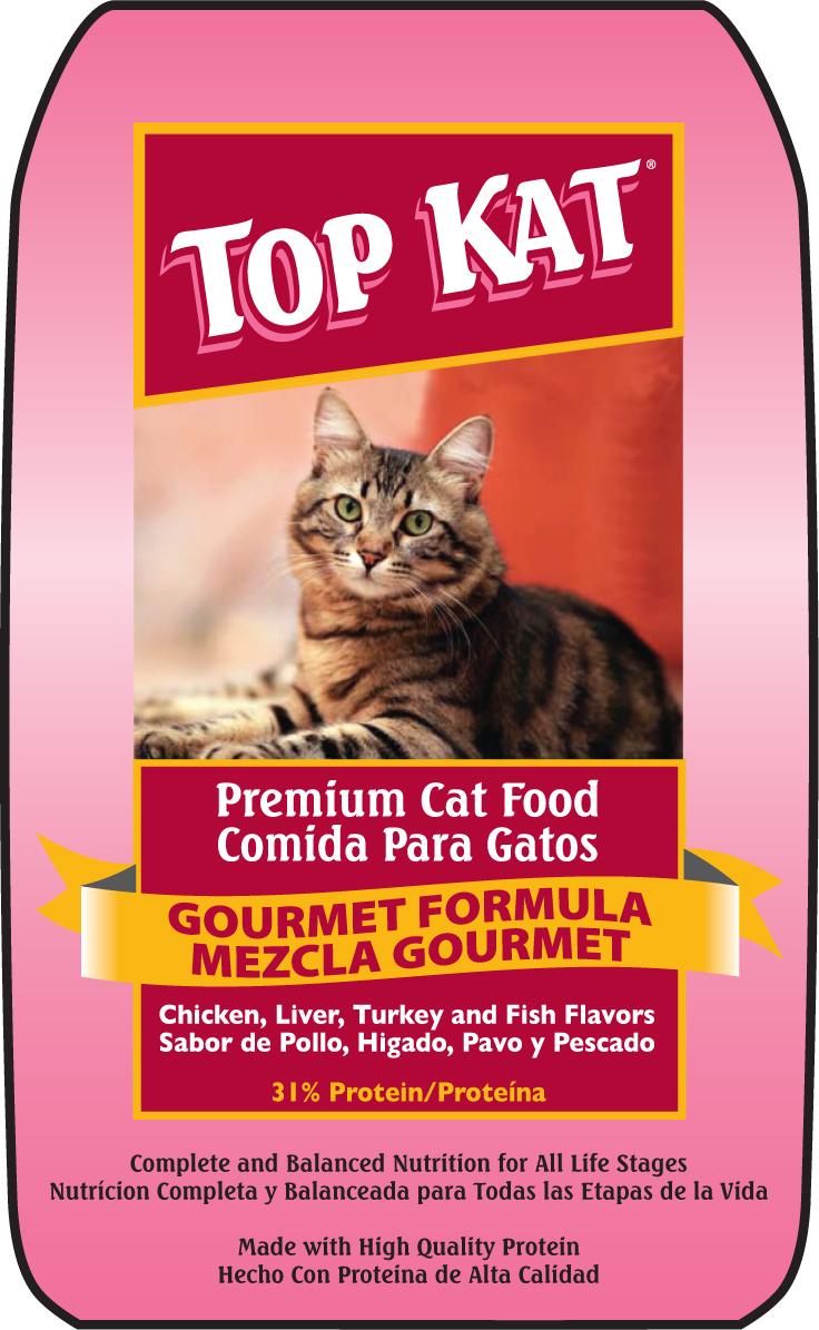 """טופ קט מזון לחתולים 6.36 ק""""ג"""