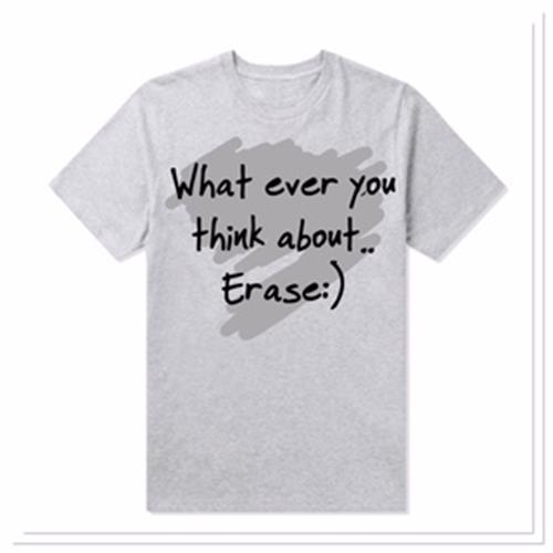 חולצות העצמה  2018 WHAT EVER YOU THINK ABOUT..