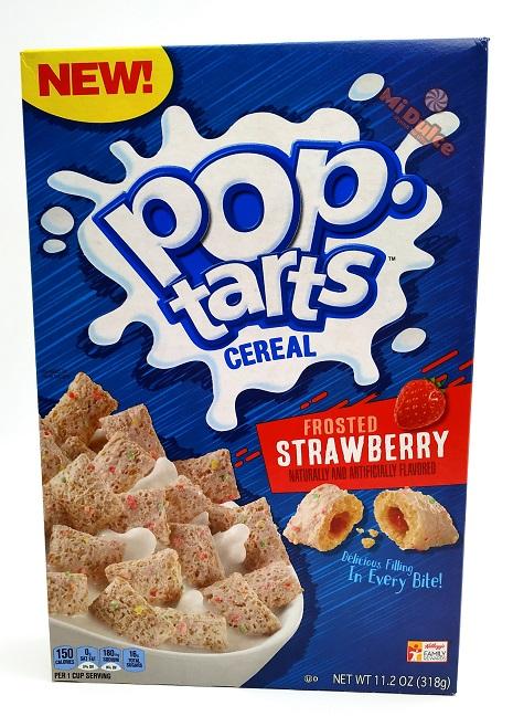 pop tarts strawberry cereal
