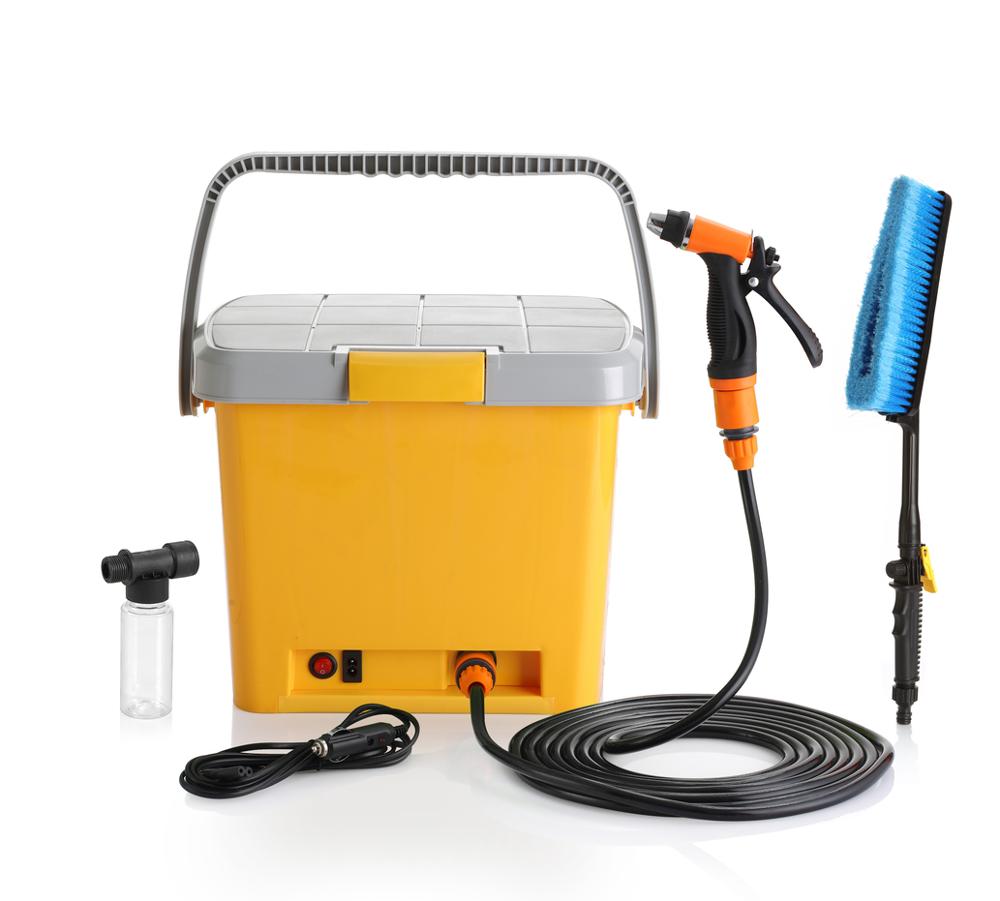 מכשיר למקלחת בלחץ / שטיפה בלחץ חשמלי (לרכב)
