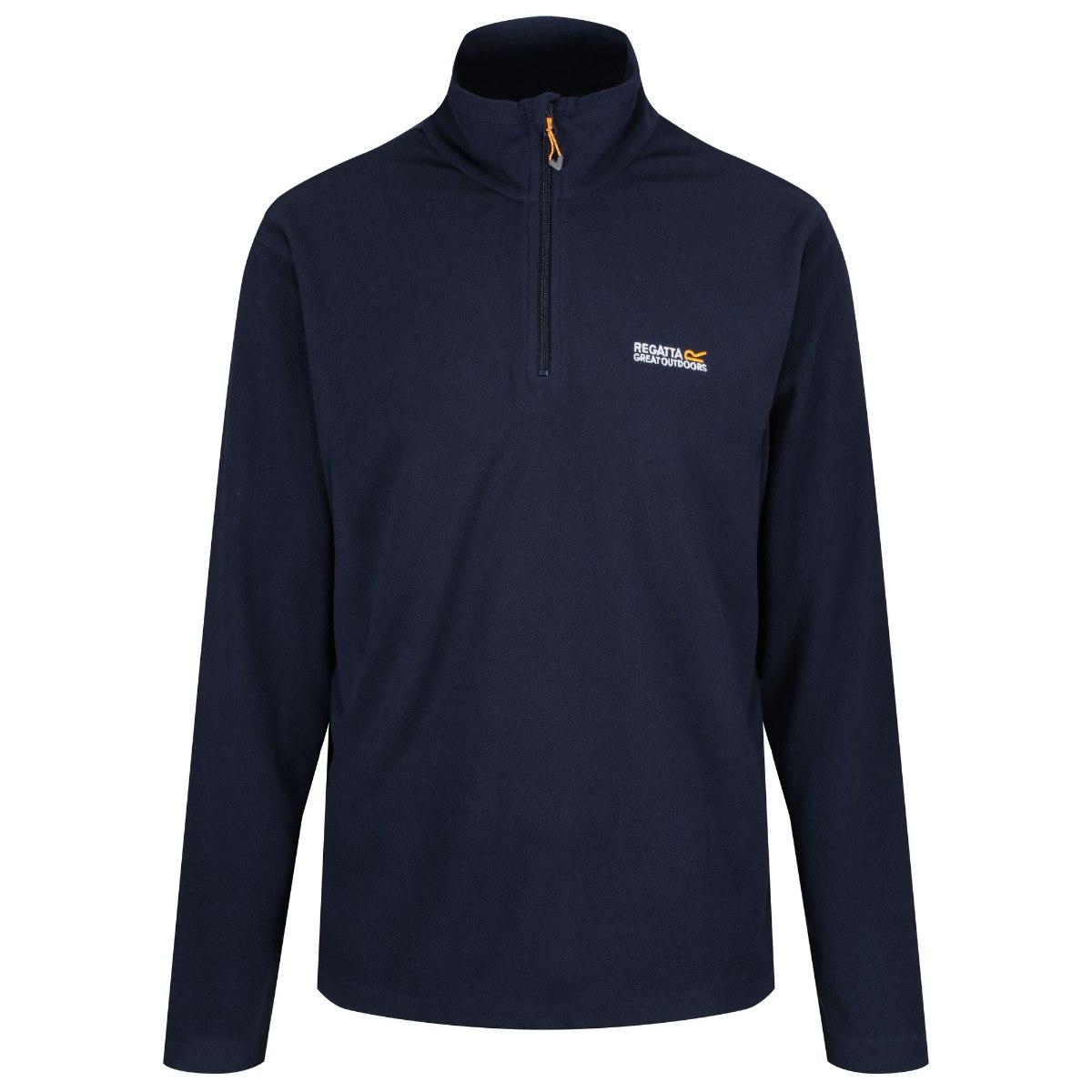 חולצת מיקרופליז גברים דגם Thompson כחולה מבית מותג אופנת המטיילים הבריטית Regatta Great Outdoors