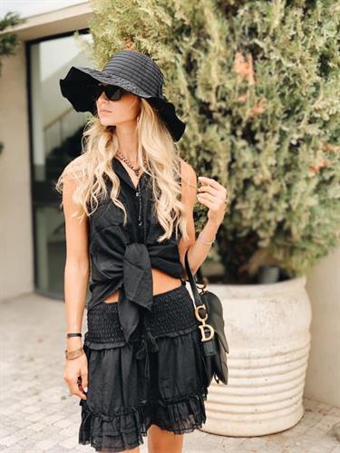 חליפת דנים black