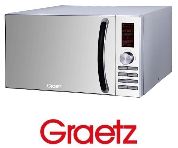 Graetz מיקרוגל דיגיטלי משולב גריל 23 ליטר דגם MW982