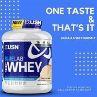 אבקת חלבון |USN BLUELAB 100% whey