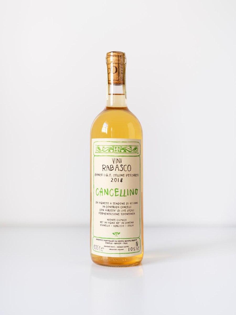 CANCELLINO, יין לבן טבעי