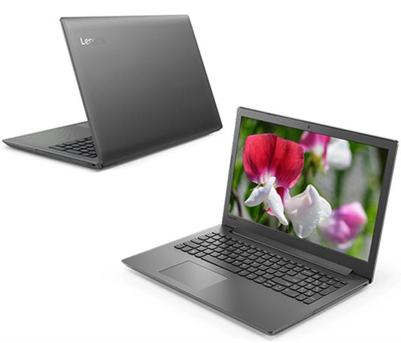 """מחשב נייד """"15.6 Lenovo IdeaPad 130-15 81H7003QIV i3-6006U בצבע שחור"""