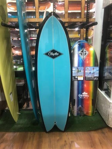 CLAYTON RETRO FISH PU 5'8