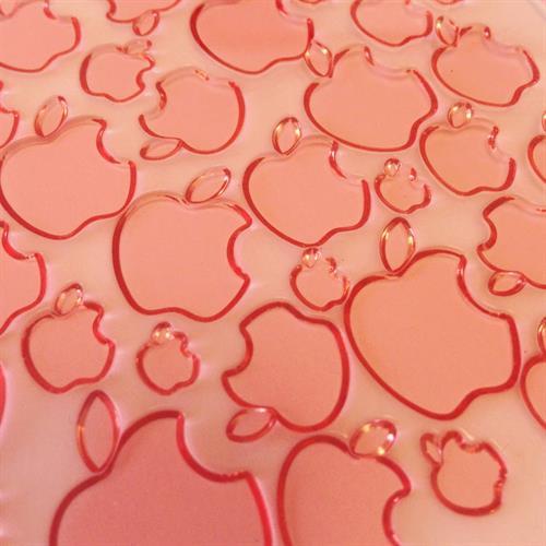 משטח טקסטורה תפוחים
