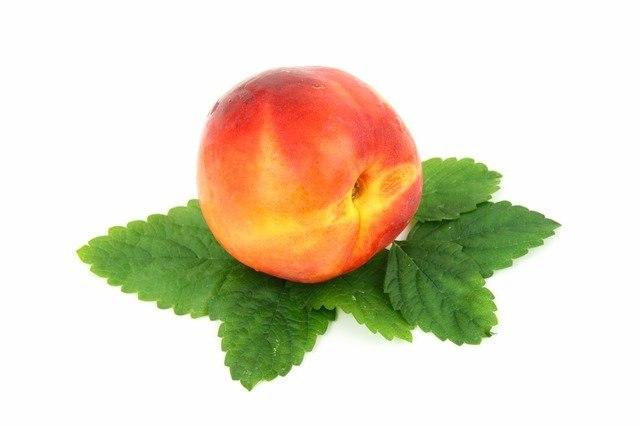 אפרסק לבן אורגני