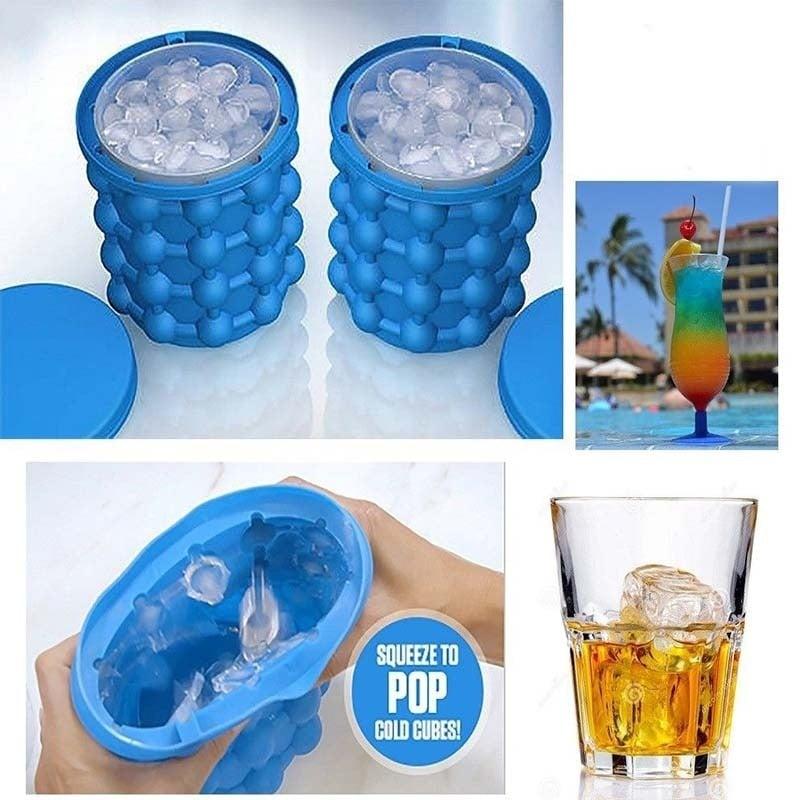 יצרן קוביות קרח מיוחד בעיצוב חדשני עד 120 קוביות