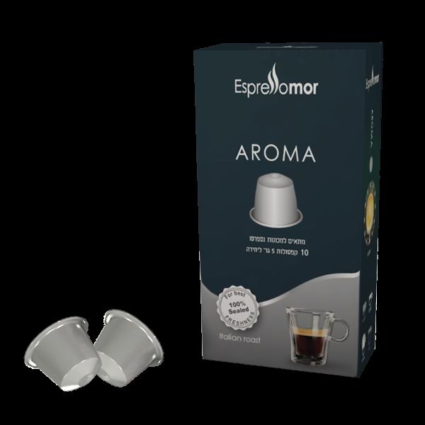 קפסולות Aroma , דרגת חוזק 4