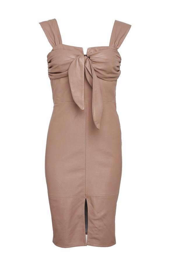 שמלת עור גרייס פודרה