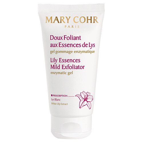 מארי  קור- פילינג אנזימטי, לעור רגיש ולאיזור העיניים Lily Essences Mild Exfoliate