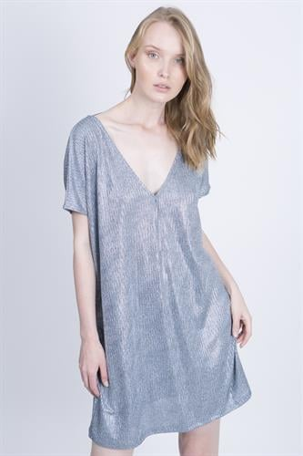שמלת טארה כחולה