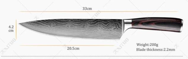 סכין מטבח חדה מאוד - SharpKnife