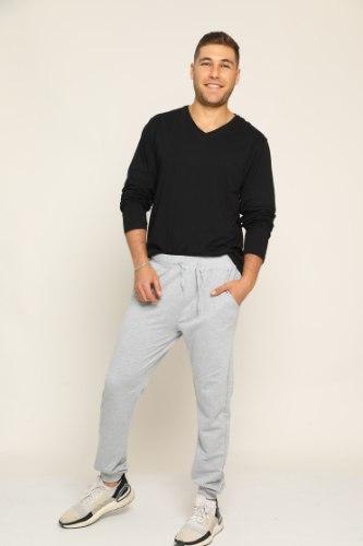 מכנסיים לגבר מעבר גומי רחב