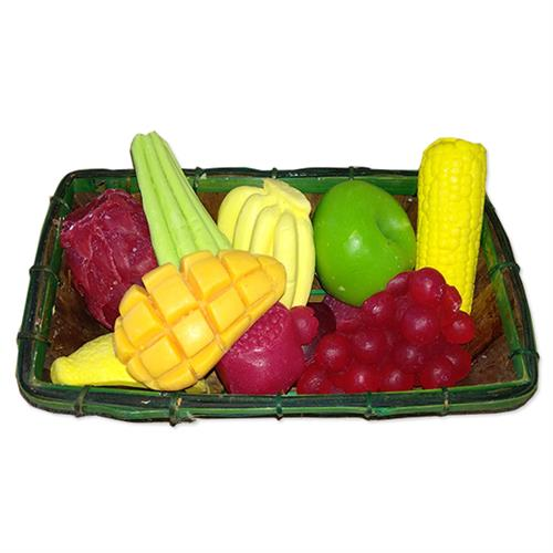 סלסלת סבוני פירות וירקות