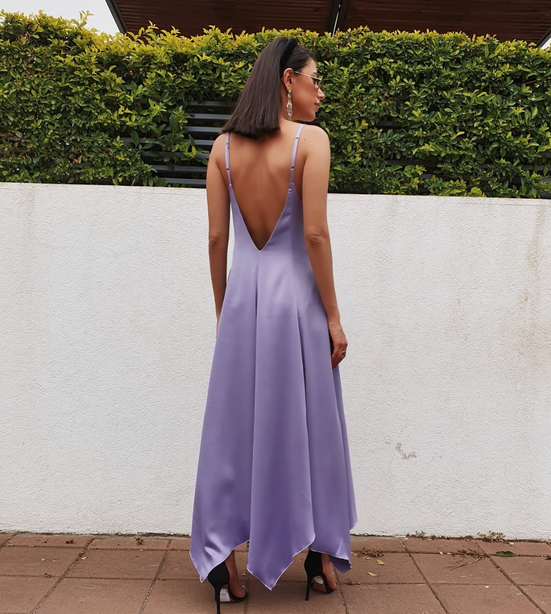 שמלת ליאל - סגולה