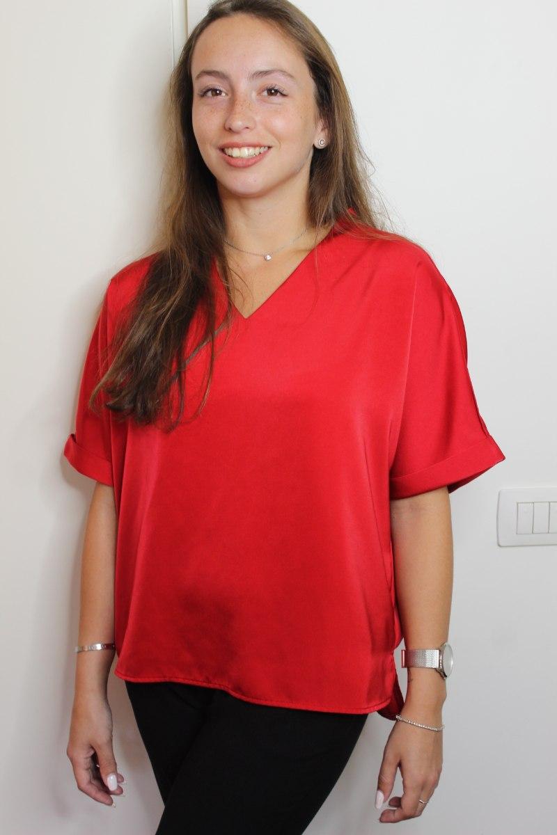 חולצת הלן אדומה