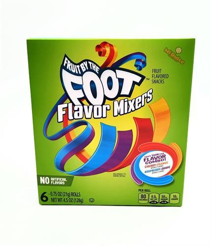 Foot Flavor Mixers
