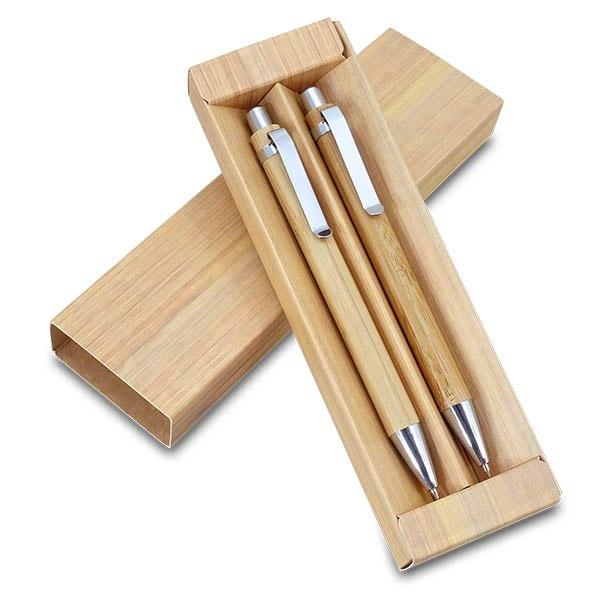 סט כלי כתיבה במבוק